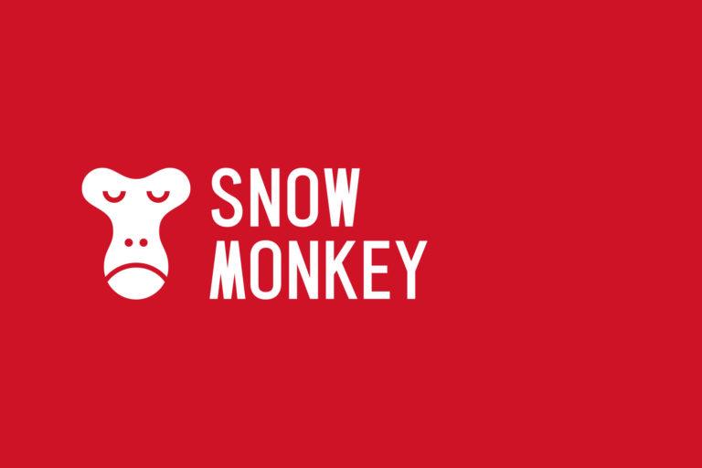 snow monkeyのロゴ
